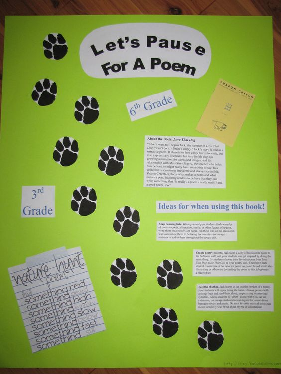 poetry creative writing lesson plans