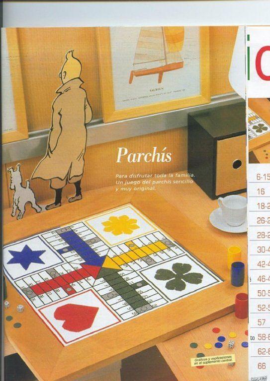 Solo Patrones Punto Cruz (pág. 22) | Aprender manualidades es facilisimo.com
