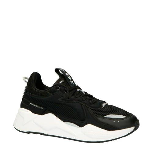 RS X Softcase sneakers zwart   Sneaker, Zwart, Zwart wit