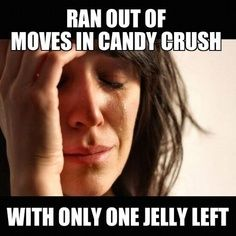 hahaha..Candy Crush is taking over #addiction #funny