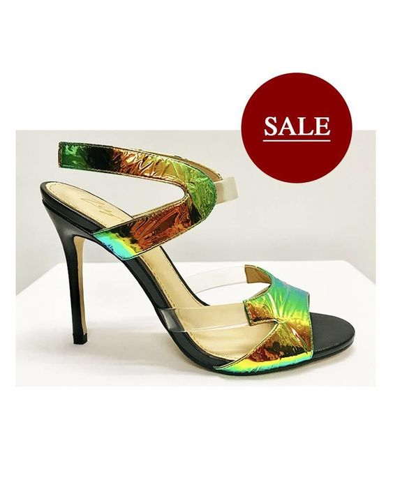 Womens Zizi By Florsheim Torres Shiny Multi Colour High Heel Multi Coloured High Heels Florsheim Shoes Florsheim