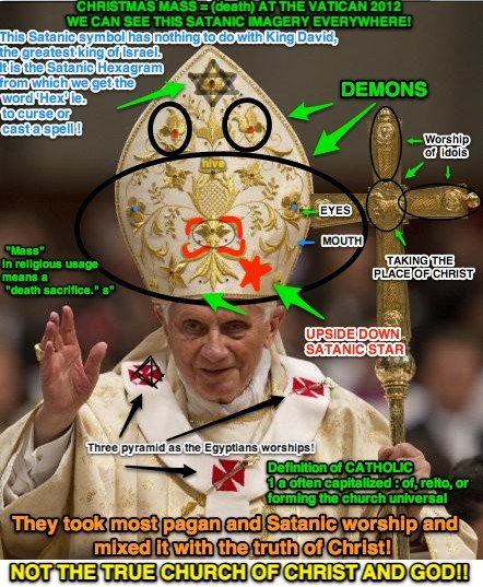 Are Parts of Organized Religion Satanic?