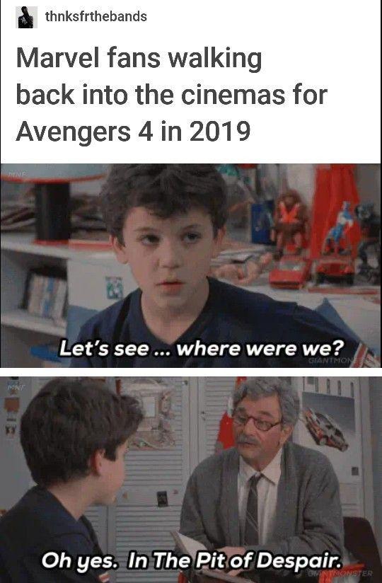 Marvel Fans Going To See Avengers 4 Funny Marvel Memes Marvel Funny Marvel Memes