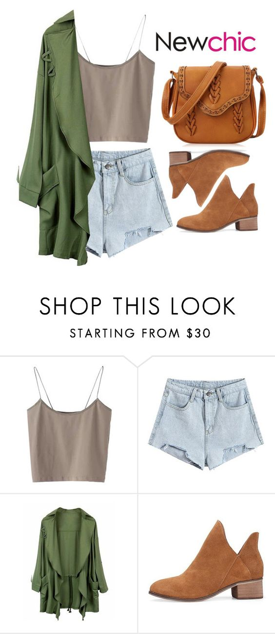 """""""Newchic 16"""" by hungry-unicorn ❤ liked on Polyvore"""
