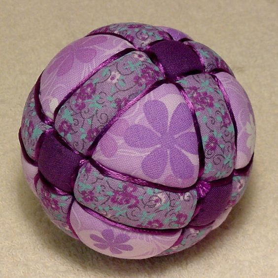Kimekomi Ball My Purple Antique Ball by DottiesTemaris on Etsy, $18.50