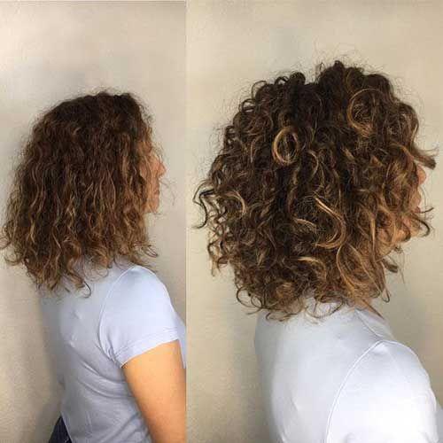 20 Alternative Curly Bob Haircuts Bob Haircut And Hairstyle Ideas Bob Haircut Curly Medium Curly Hair Styles Curly Hair Styles Naturally