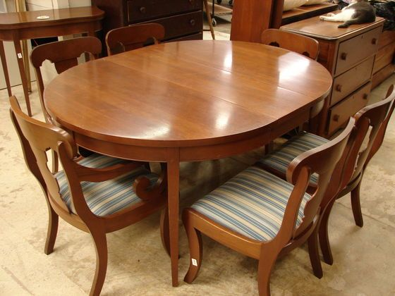 Craftique Dining Room Furniture At Raleigh Auction Saturday