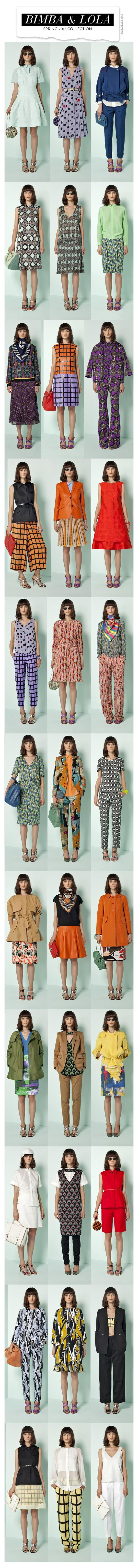 Bimba & Lola Spring 2013 Collection