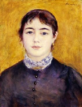 Pierre-Auguste Renoir - Young Woman Wearing Blue