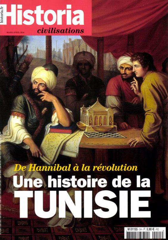 Le magazine 'Historia' dédie sa Une à l'histoire de la Tunisie