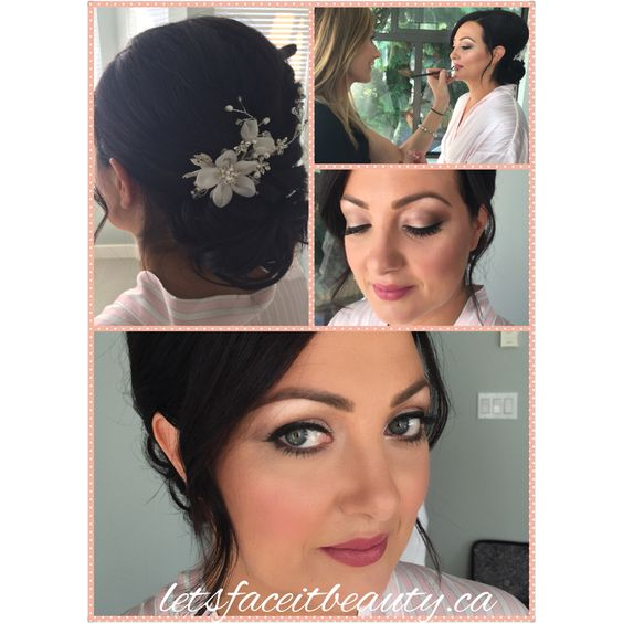 Today's Beauty, Carly! @letsfaceitbeauty #letsfaceitbeauty #weddingmakeup #weddingmakeupandhair
