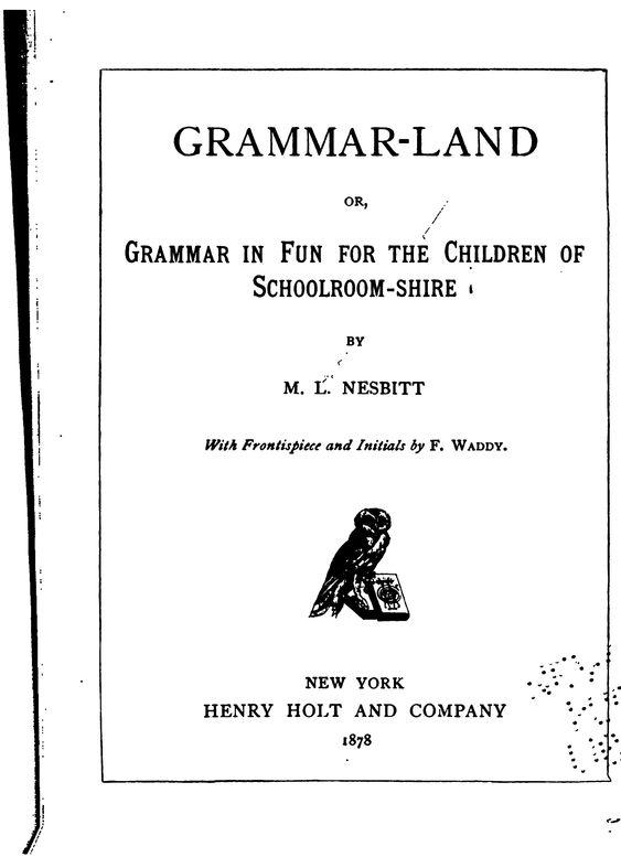 waldorf 4th grade grammar grammar land book free online worksheets here https docs. Black Bedroom Furniture Sets. Home Design Ideas