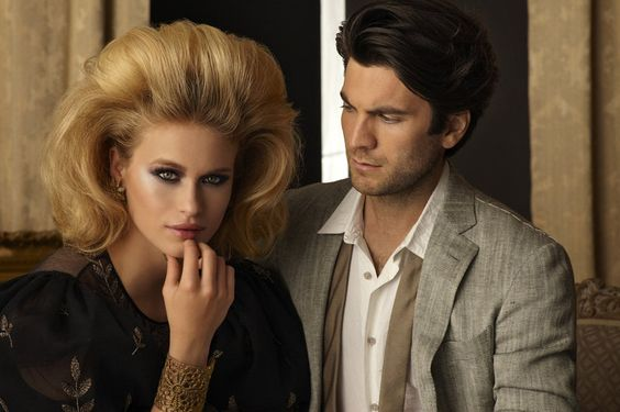Wes Bentley and Leven Rambin for Genlux magazine. Photography by Jeff Berlin.
