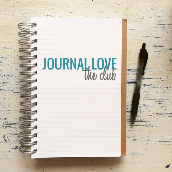 Journal Love Club - a free monthly club for your journal practice!
