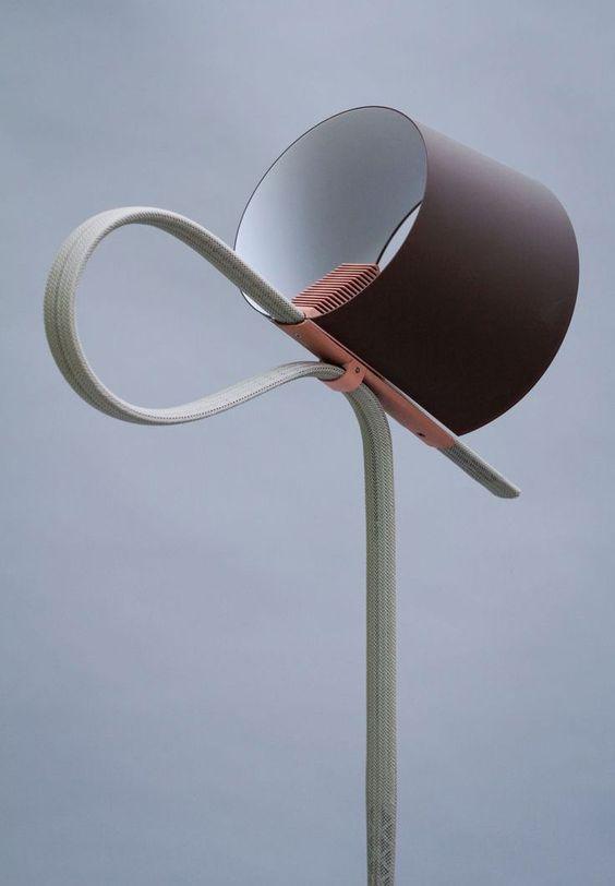 Coup de cœur : « Ropetrick », la lampe textile par Stefan Diez - Floriane…
