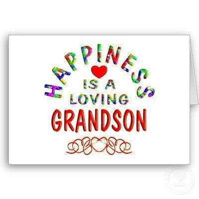 I love my 3 grandsons!
