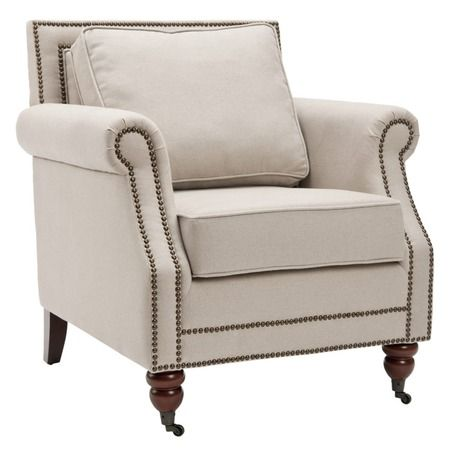 I pinned this Lenox Club Chair from the A Thoughtful Place event at Joss and Main!