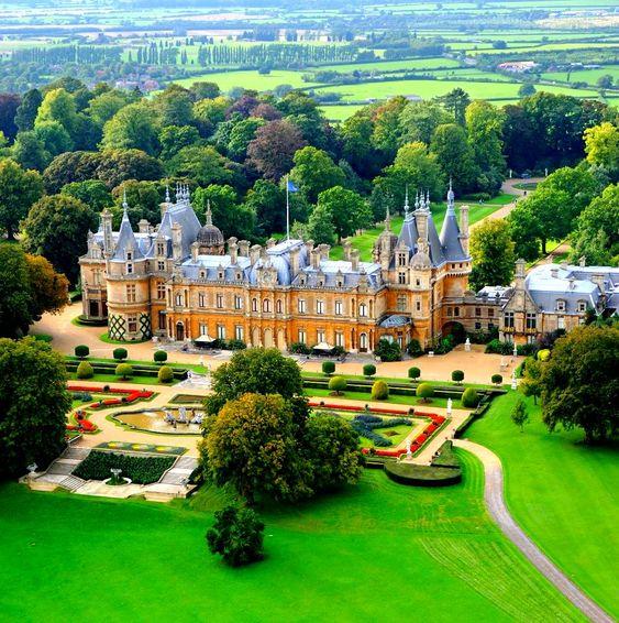 Waddesdon Manor – Buckinghamshire, England.