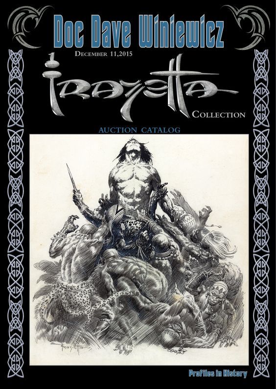 Stunning Collection of Frank Frazetta Fantasy Art Is Going Up For Sale — GeekTyrant