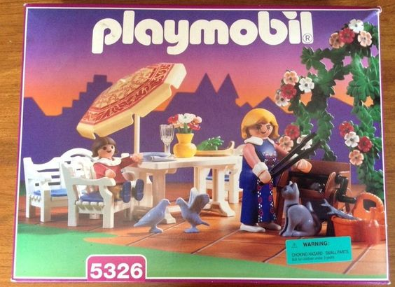 Playmobil Victorian Mansion Patio Set 5326 Complete in SEALED Box | eBay
