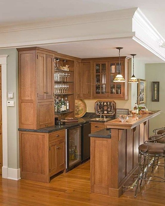 50 Stunning Home Bar Designs | Small spaces, Bar and Larder