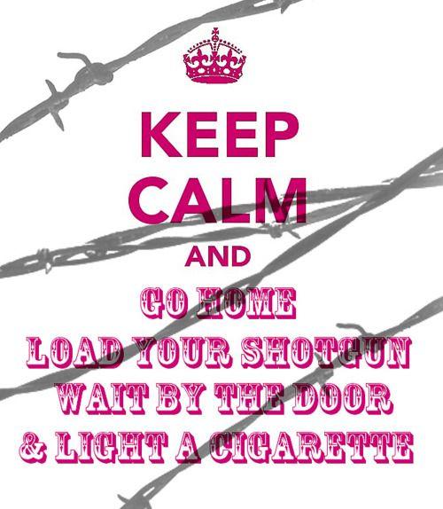 Keep calm...#mirandastyle
