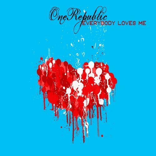 OneRepublic – Everybody Loves Me (single cover art)