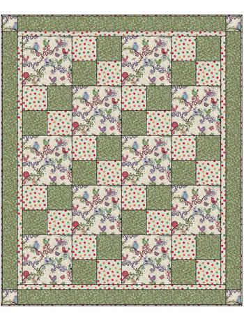 Quilt Patterns With 3 Fabrics : 3 yard quilt patterns free quilt top right click on image of quilt top to Quilt Pinterest ...