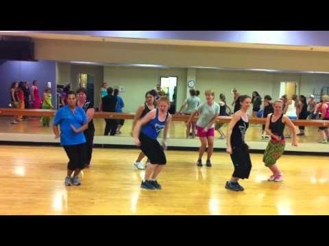 ▶ Aqua Zumba® Choreography to Crazy Love @ Instructor training in Cincinnati, OH - YouTube