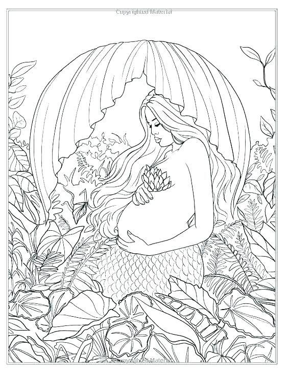 Barbie Mermaid Coloring Pages Mermaids Just Add Water Artist