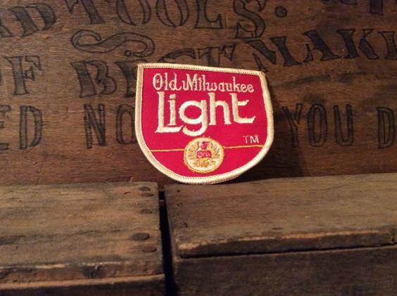 Vintage Estate Old Milwaukee Light Beer Jacket by MADVintology, $3.50