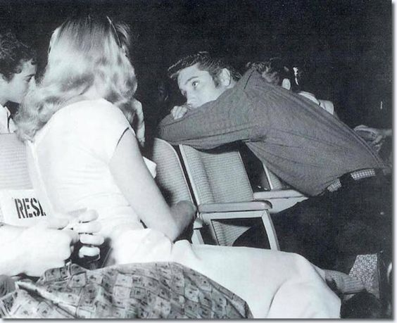 #ElvisHistory - having agreed the deal Sept 1st #Elvis would be introduced on the Sept 9th 1956 show - pic pre-show @MartyJay2