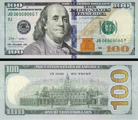 Canny image pertaining to printable 100 dollar bill front and back