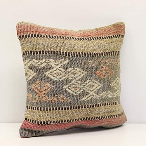 Decorative Kilim Pillow Cover 12x12 Inch 30x30 Cm Handm Https Www Amazon Com Dp B07scrmfc4 Ref Cm Sw R Pi Dp X 5 86c Kilim Pillows Pillows Pillow Covers