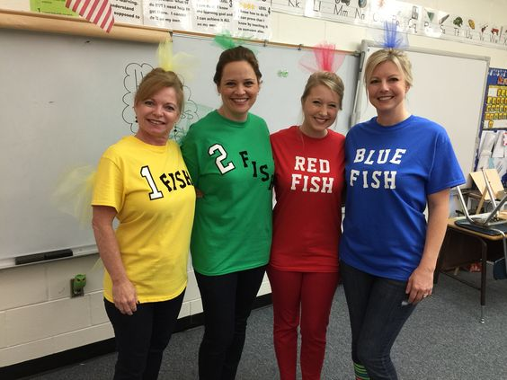one fish two fish red fish blue fish dr seuss costume