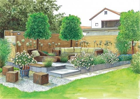 Outdoor Wohnbereich Spice And Medicinal Herbs Delight The Eye With Their Variety Of Colours The Senses With In 2020 Beautiful Gardens Garden Layout Outdoor Gardens