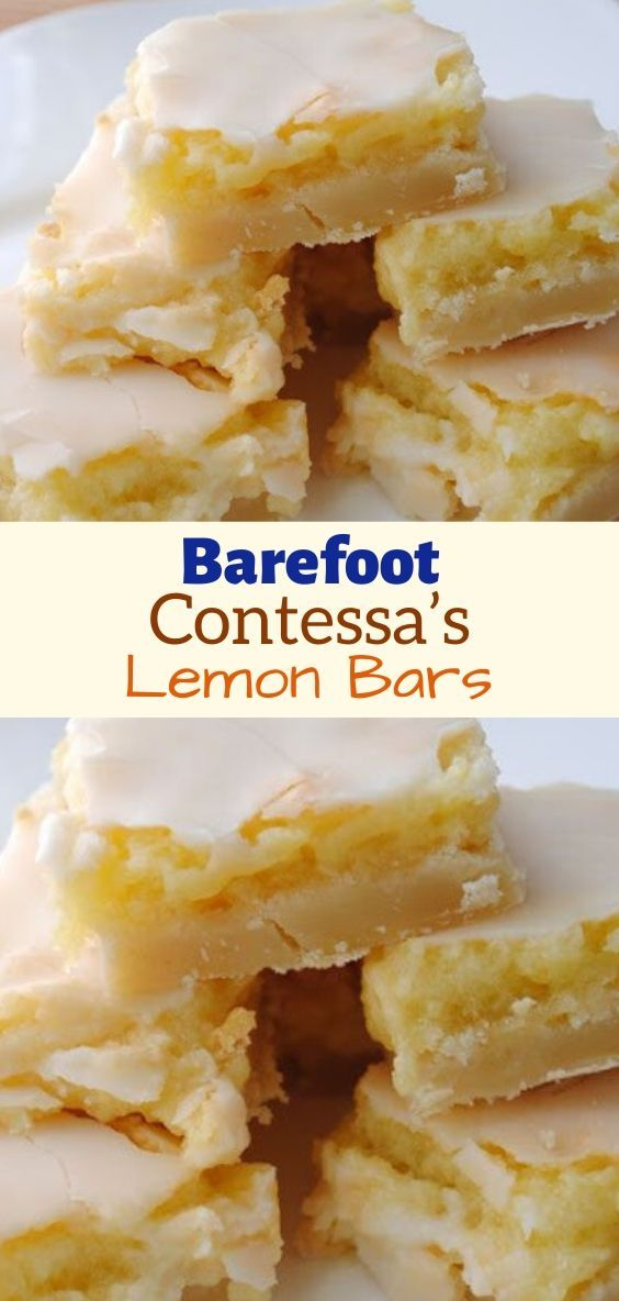 Barefoot Contessa's Lemon Bars