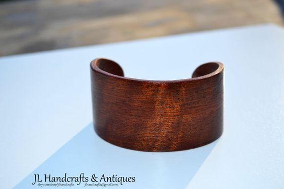 $24 - Exotic wood cuff bracelet made by JL Handcrafts!   facebook.com/jlhandcrafts12