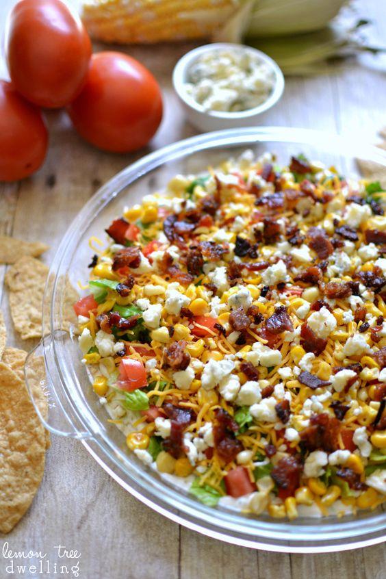 Cobb Dip | Recipe | Dips, Tortilla Chips and Tortillas