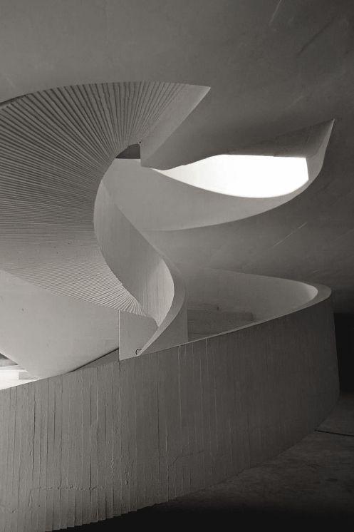 Oscar Niemeyer   International Cultural Centre 2011 Avilés. Via 1 NOTE: Movement
