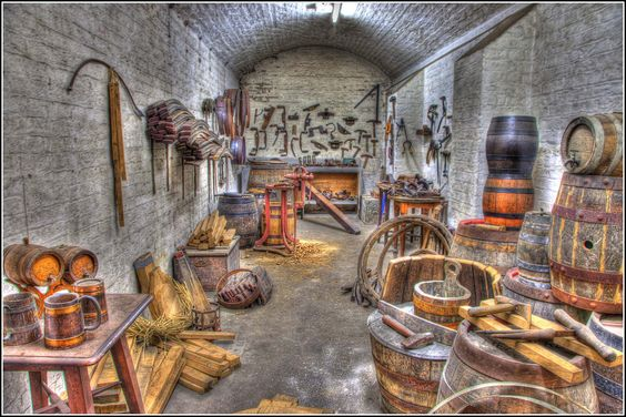 The Old Workshop | Cooper's workshop on the Brewery Tour - From Smudge 9000