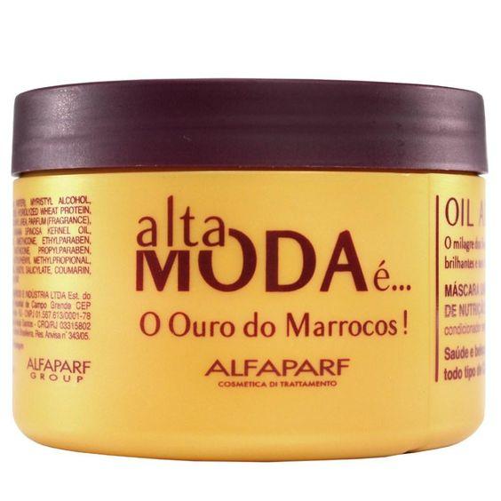 Alfa Parf Alta Moda Oil Argan - Máscara Umectante de Nutrição Profunda 300g - Máscara no Extra.com.br: