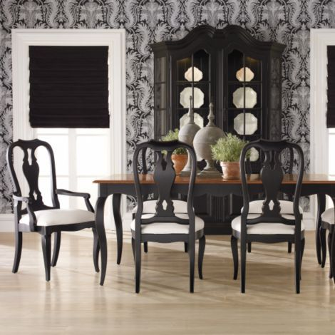Ethan Allen China Cabinets And White Damask On Pinterest