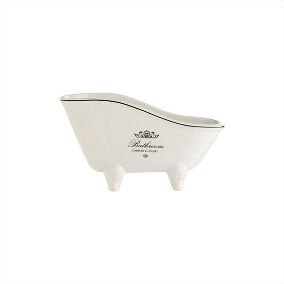 Keramik-Deko-Badewanne   Ach wie früher bei Strauss Innovation