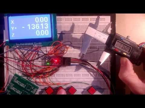 Arduino DRO with caliper http://muck-solutions.com/?page_id=439