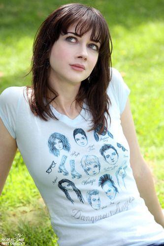 Francesca Lia Block Dangerous Angels T-Shirt Women's