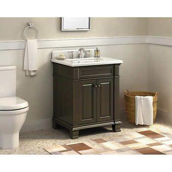 479 Hudson 28 Vanity By Lanza Costco Friar House Powder Bath Pinterest Bathroom