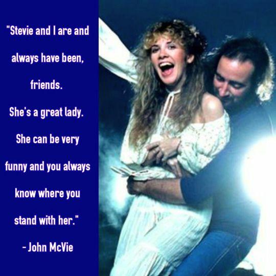 Stevie and John McVie