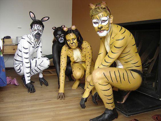 POR UN CIRCO SIN ANIMALES (Body Paint//Remedios la Bella//Camila Bernal) | Flickr - Photo Sharing!