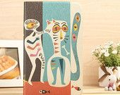 Abstract Cat Ultra-thin Flip Leather Tablet Case for Samsung Galaxy Tab 3 8.0 T310 T311,Tab 3 7.0 T210 P3200 Personalized Gift for Her